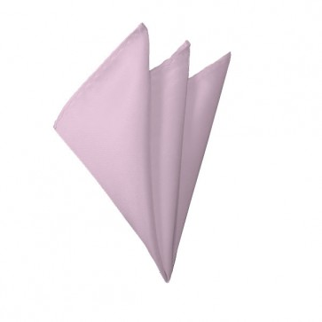 Solid Light Pink Hanky Mens Handkerchief Pocket Square