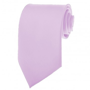 Solid Lavender Skinny Ties Solid Color 2 Inch Mens Neckties