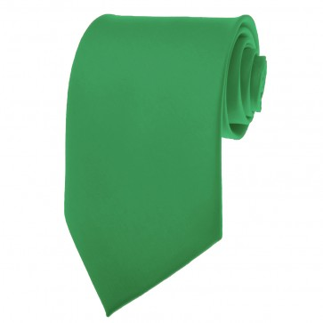 Seafoam Green Ties Mens Solid Color Neckties