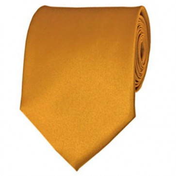 Gold Bar Solid Color Ties Mens Neckties