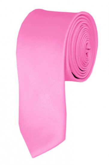 Pink Boys Tie 48 Inch Necktie Kids Neckties