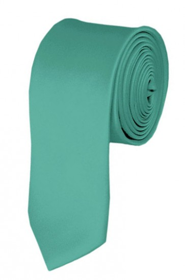 Mint Green Boys Tie 48 Inch Necktie Kids Neckties
