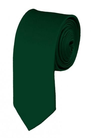 Hunter Green Boys Tie 48 Inch Necktie Kids Neckties
