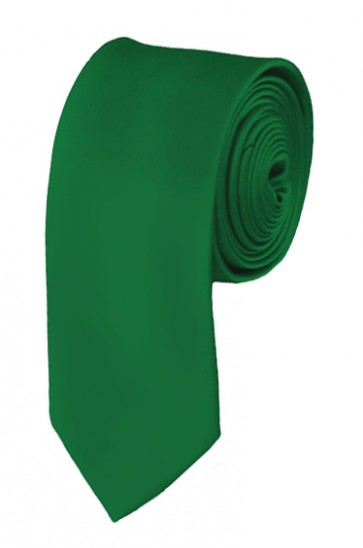 Kelly Green Boys Tie 48 Inch Necktie Kids Neckties