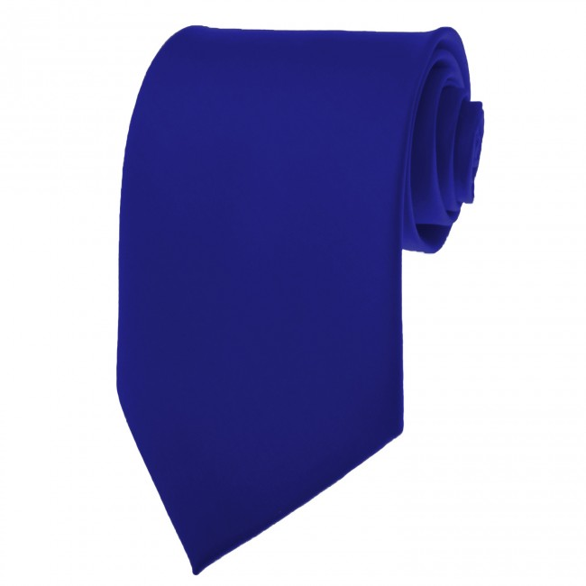 49b9f537ab71 Royal Blue skinny ties - Satin - Mens Neckties - Wholesale prices no ...