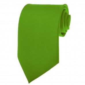 Clover Green Ties Mens Solid Color Neckties