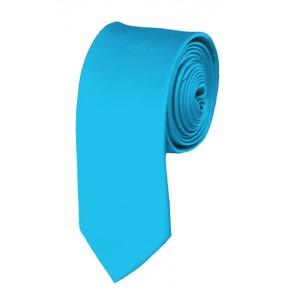 Turquoise Blue Boys Tie 48 Inch Necktie Kids Neckties