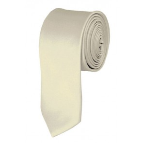 Cream Boys Tie 48 Inch Necktie Kids Neckties
