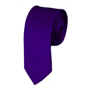 Dark Purple Boys Tie 48 Inch Necktie Kids Neckties