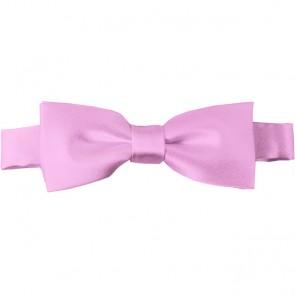 Pink Bow Tie Pre-tied Satin Boys Ties