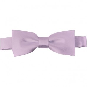 Light Pink Bow Tie Pre-tied Satin Boys Ties