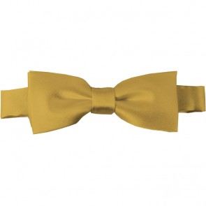 Honey Gold Bow Tie Pre-tied Satin Boys Ties