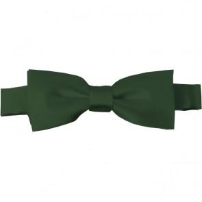 Dark Olive Bow Tie Pre-tied Satin Boys Ties